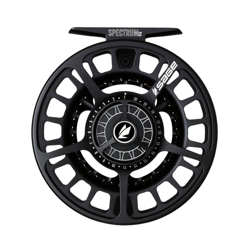 Sage SPECTRUM LT Fly Reel - Stealth Black