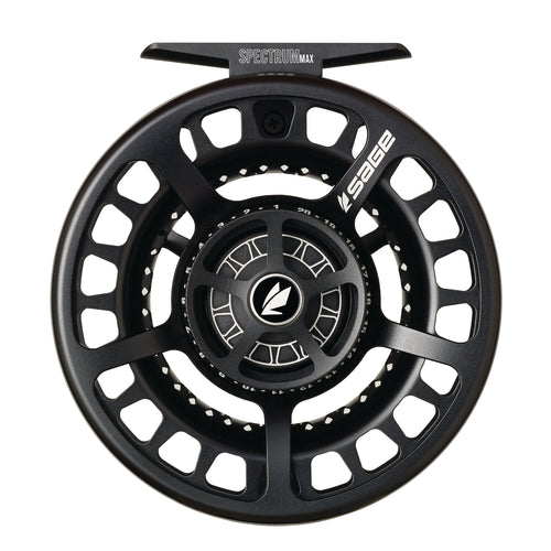 Sage SPECTRUM MAX Fly Reel - Stealth Black