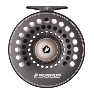 NEW! Sage SPEY Fly Reel - Stealth / Silver