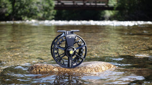 Waterworks Lamson Speedster S Fly Reel in Midnight - NEW!