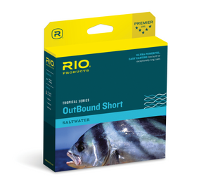RIO Tropical Outbound Short Saltwater Fly Line - Floating