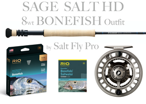 Sage SALT HD 8wt BONEFISH Outfit