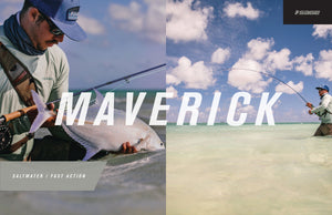 Sage MAVERICK Fly Rods for Saltwater Fly Fishing