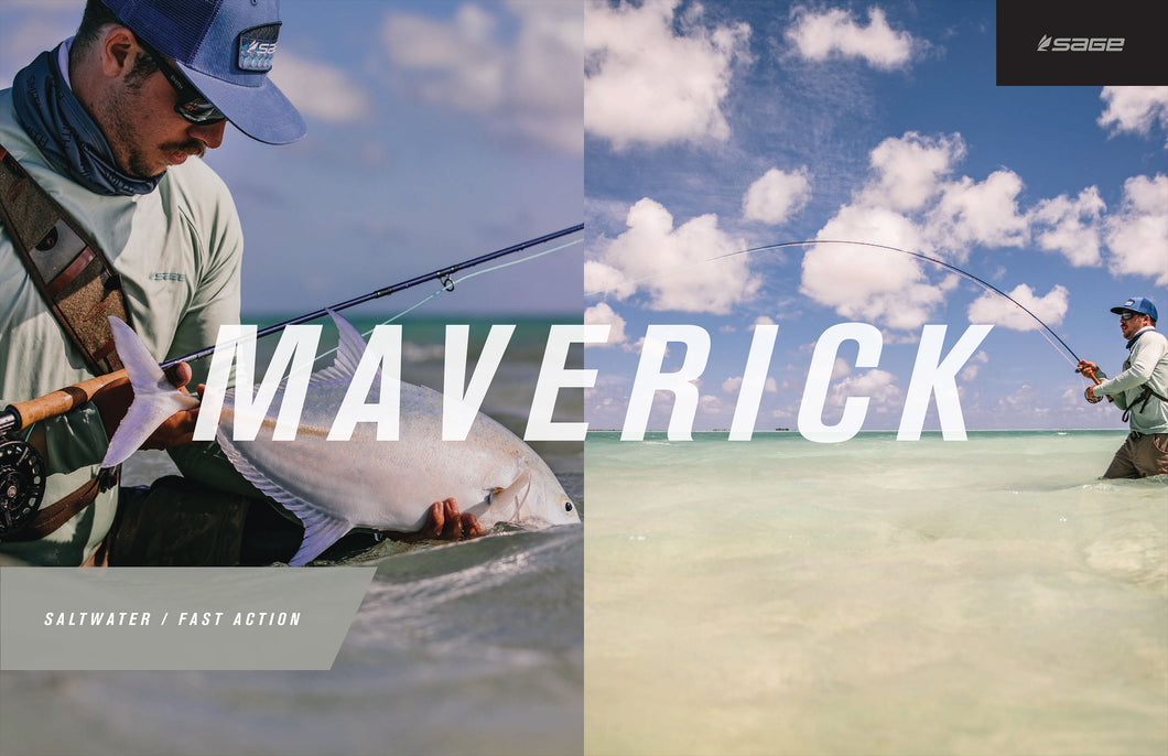 Sage MAVERICK Fly Rods for Saltwater Fly Fishing - NEW!!!