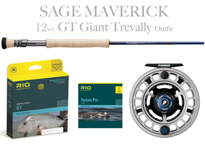 Sage MAVERICK Fly Rod - OFFSHORE Combo 14wt Fly Rod + Spectrum MAX Reel (11/12)