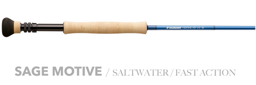 Sage MOTIVE Saltwater Fly Rods