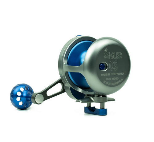Seigler OS (Offshore Small) Reels with Lever Drag