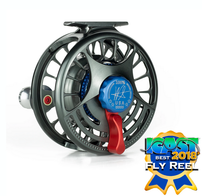Seigler Reels MF Medium Fly Reel with Lever Drag