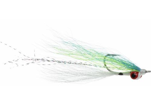 Umpqua Flies - Clouser Minnow Silver Shiner 2/0