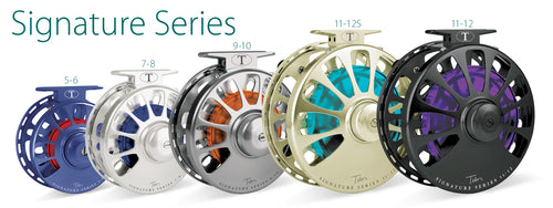 Tibor Signature Series Saltwater Fly Reels 11-12 WT