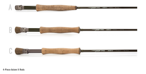 TFO AXIOM II Fly Rods