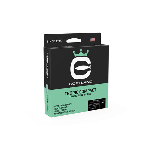 Cortland Fly Line Tropic Plus Series - Tropic Compact