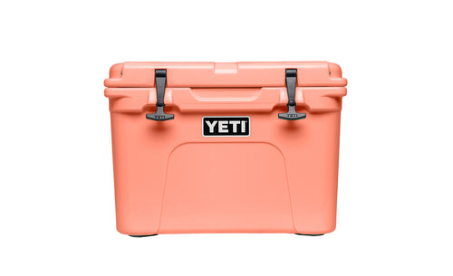 YETI Tundra 35 Cooler - Coral