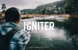 NEW! Sage IGNITER Saltwater Fly Rods!