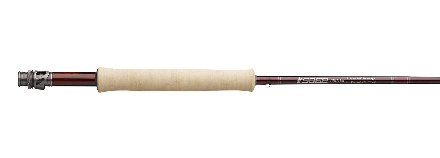 NEW! Sage IGNITER Freshwater Fly Rods!
