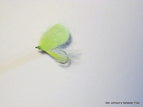 Arno's Milky Dream #4 - Light Green - Dan Johnson Custom Saltwater Flies
