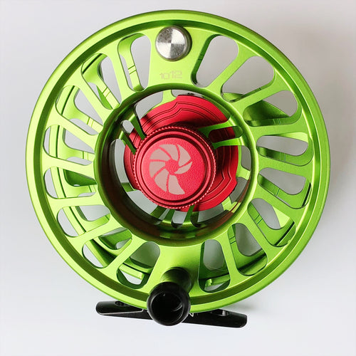 Nautilus CCF-X2 Fly Reel - 8/10 WT in Key Lime! (Special Order Color)