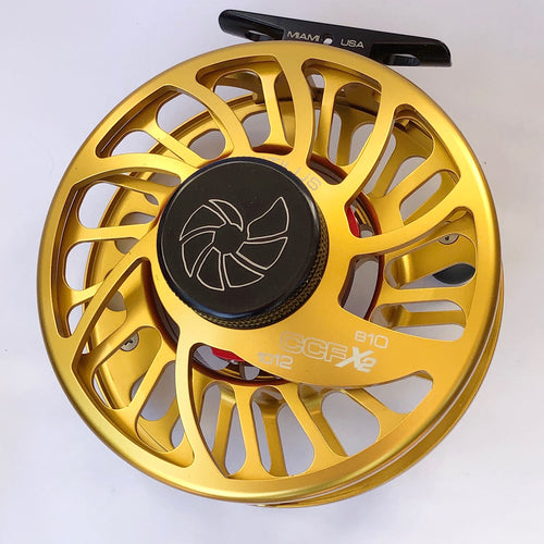 Nautilus CCF-X2 Gold 10/12 Fly Reel (Special Color)