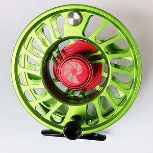 Nautilus CCF-X2 Fly Reel - 10/12 WT in Key Lime! (Special Order Color)