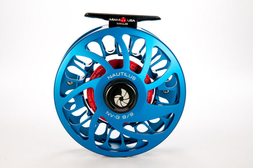 Nautilus NV-G Fly Reel - 8/9 Blue (Special Color)