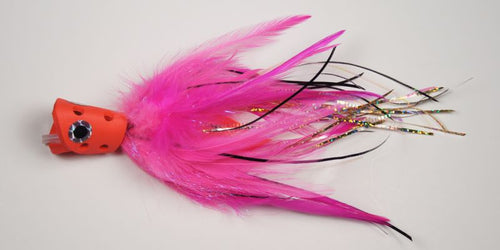 EP Flies - Apte & Enrico Billfish System Tail Hot Pink #6/0