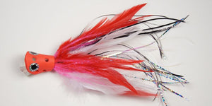 EP Flies - Apte & Enrico Billfish System White & Red