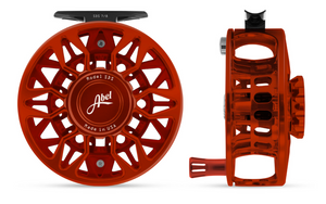 "Abel SDS Fly Reel - ""Red"""