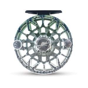 "Abel SDS Fly Reel - ""Satin Slate w/ Black Drag Knob"""