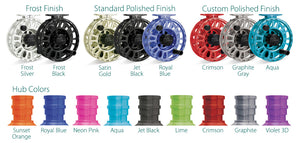 Tibor HUB COLOR for Fly Reels (Free Option - Add to Cart with Reel)