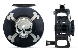 "Abel SDS Fly Reel - ""Skull & Crossbones"""