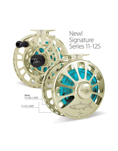 Tibor Signature Series Saltwater Fly Reels 11-12S (Slim)