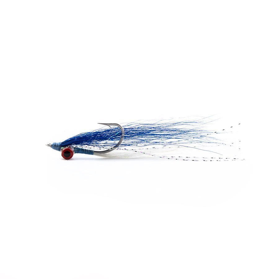 Umpqua Flies - Clouser Minnow Blue/White 2/0