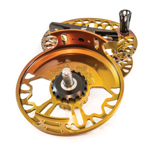 "Abel VAYA Fly Reel - ""Sunset Fade"" - NEW!!!"