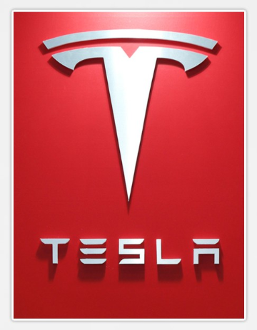 Tesla Sticker Logo