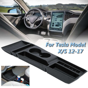 Tesla Model S/X Silicone Center Console Storage Box