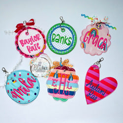 Bag Tags (made to match)