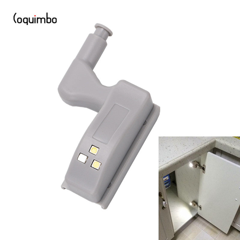In Cabinet Hinge LED Lights - Battery Operated