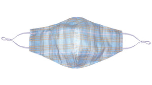 Face Mask Version 2.0 - Ocean Sunrise Plaid