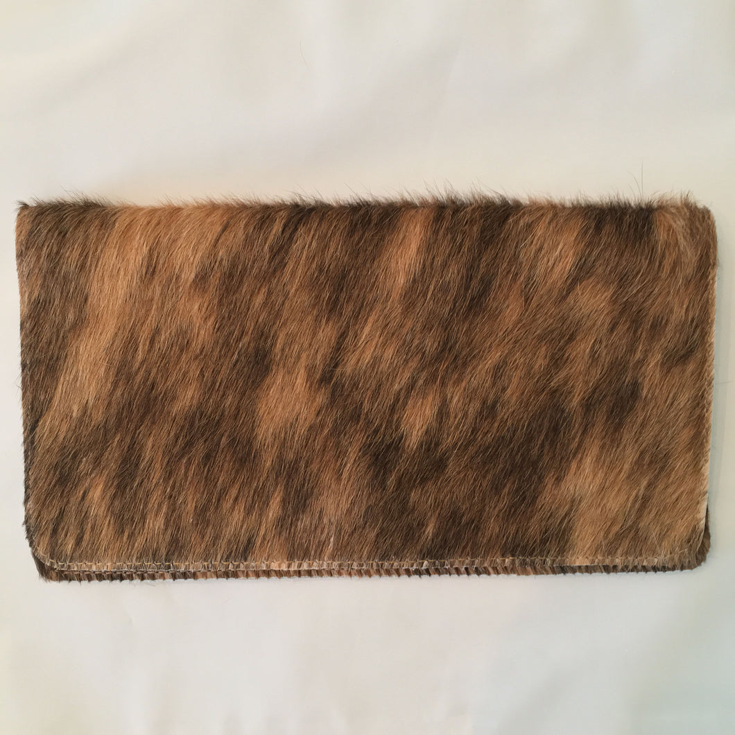 The Large Hide Clutch