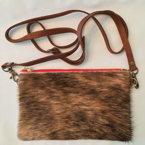 The Midsize Hide Hybrid - CrossBody/Clutch