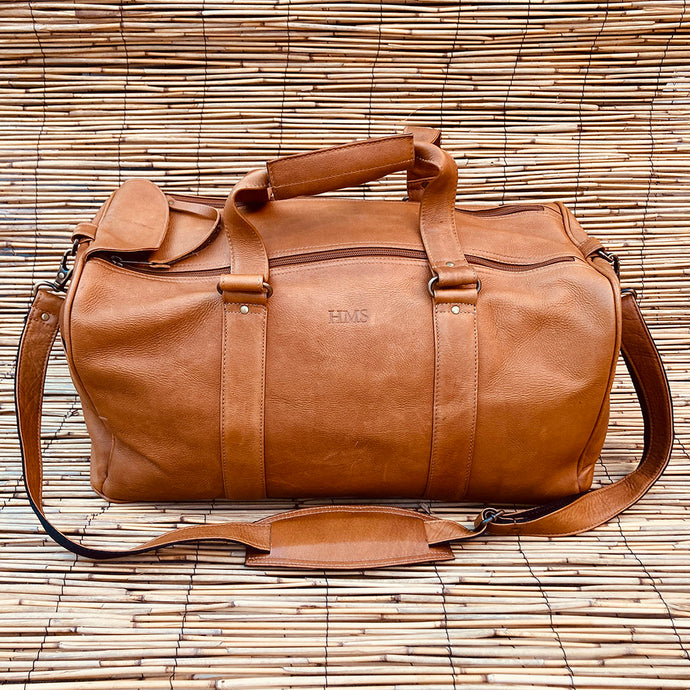 Classic Leather Duffle