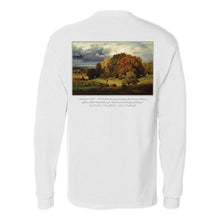 """Autumn Oaks"" Long-Sleeve Pocket Shirt"