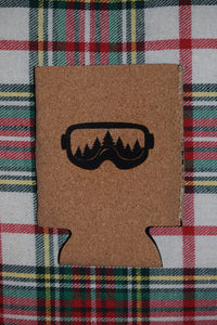 Winter Cork Koozie
