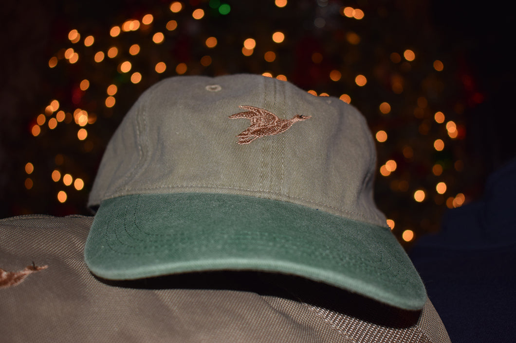 Year-Rounder Hat (Tan & Green)