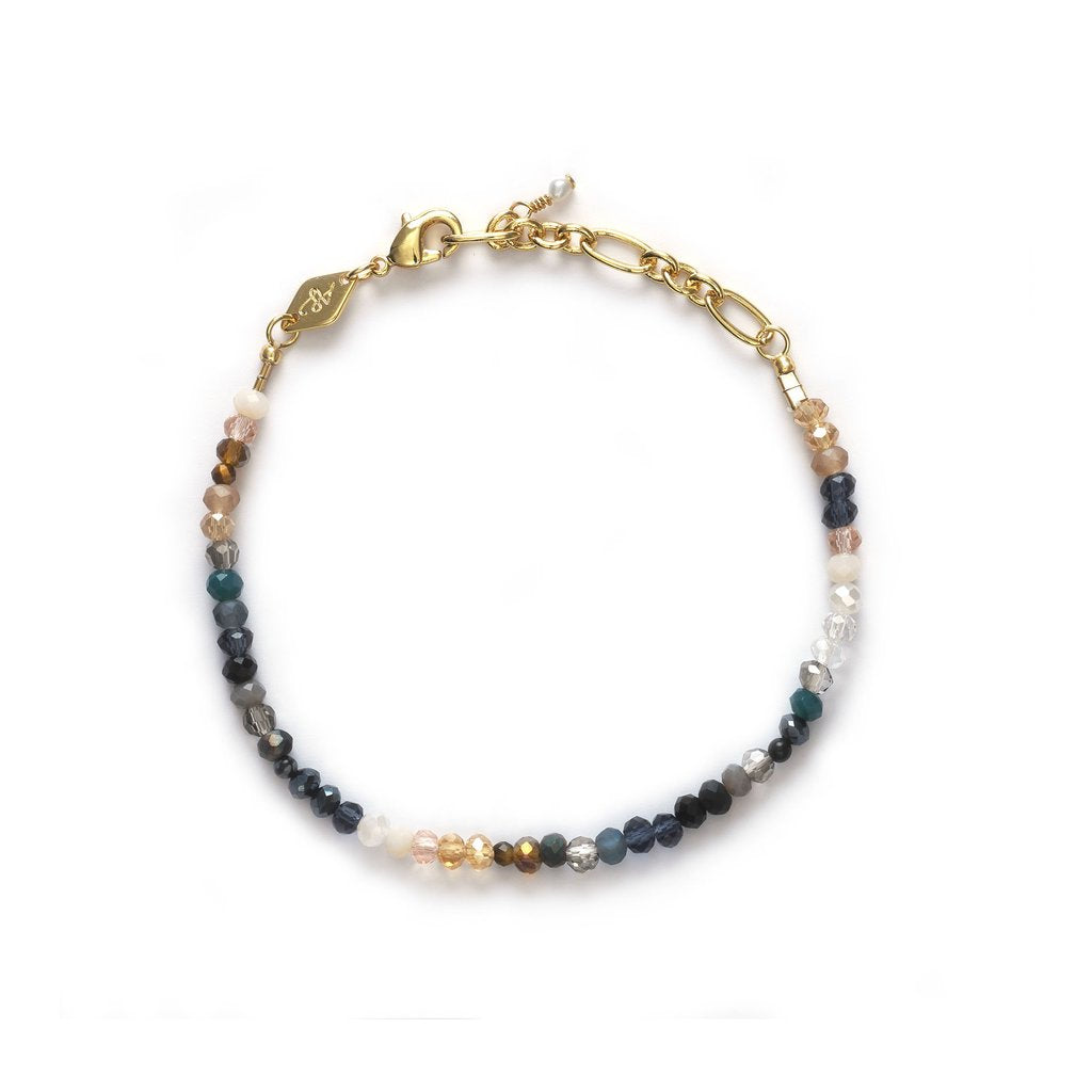 Moonstone beach bracelet - gold