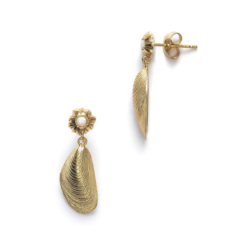Petit Moules earrings - gold