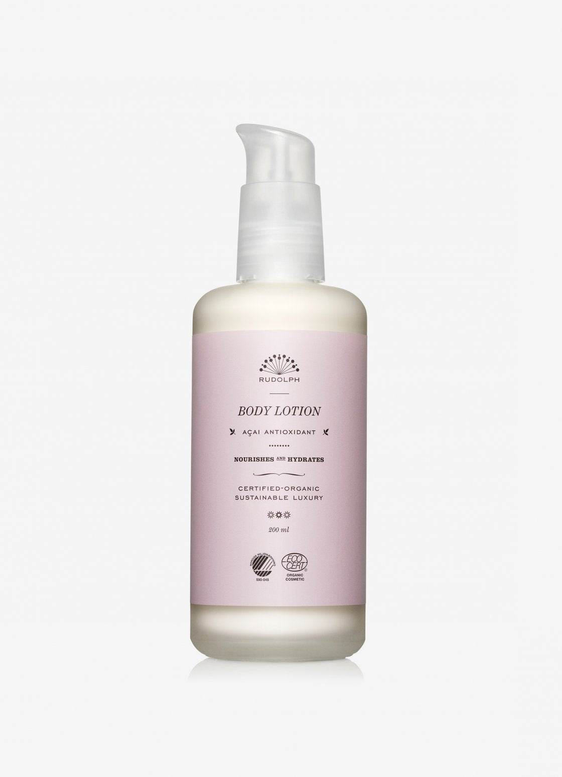 Acai antioxidant body lotion