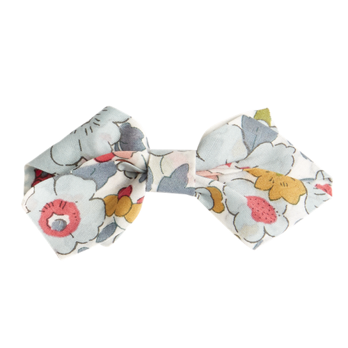Liberty small hair clip bow