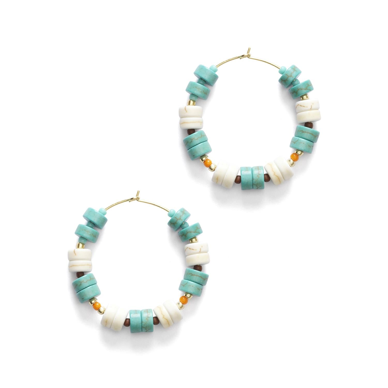Beach bum hoops