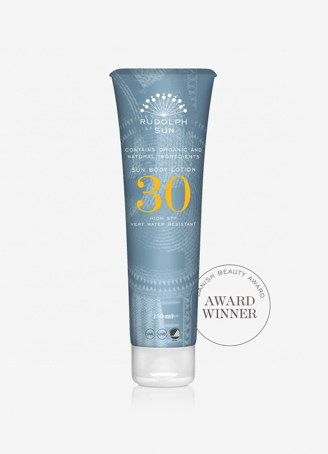Organic sun body lotion 30 SPF